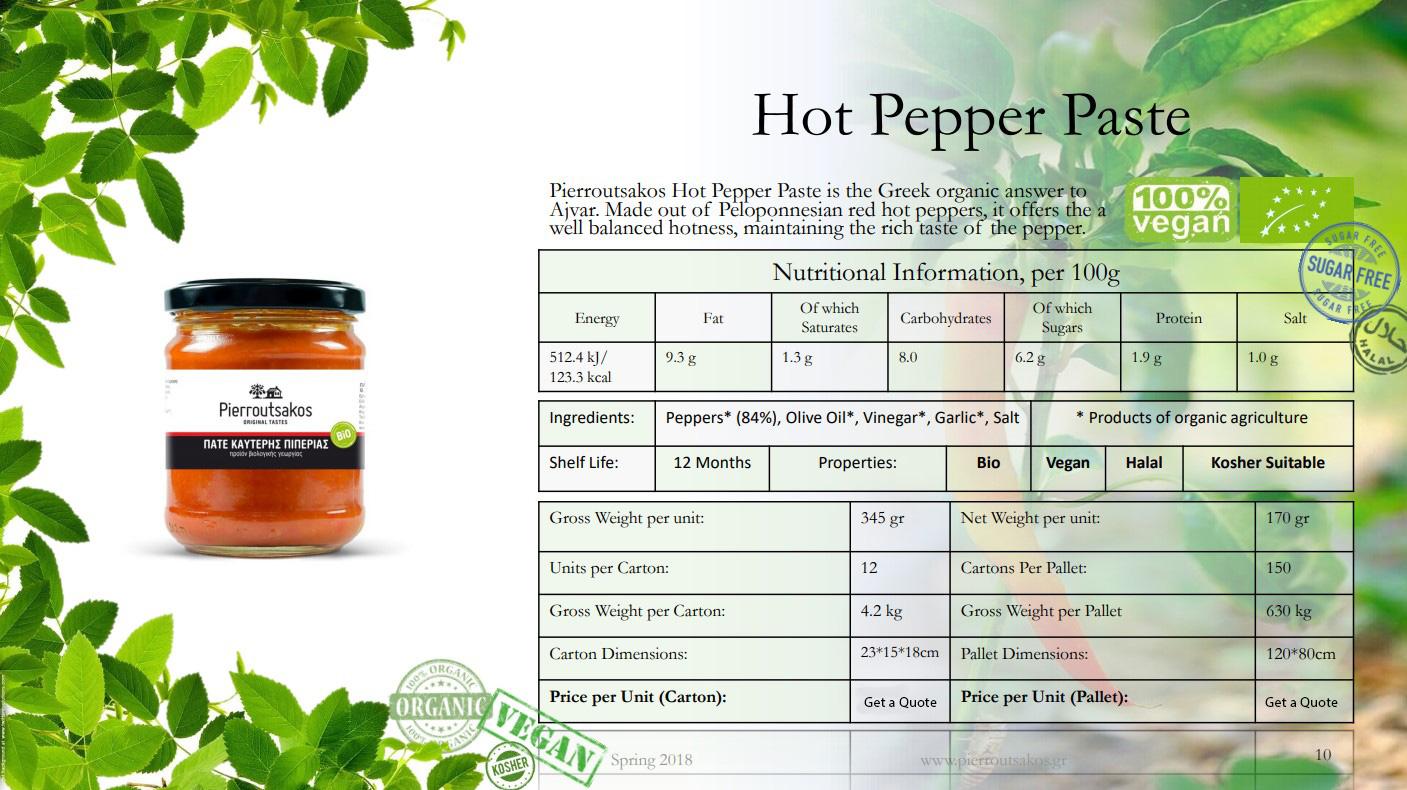 Hot Pepper Paste Image