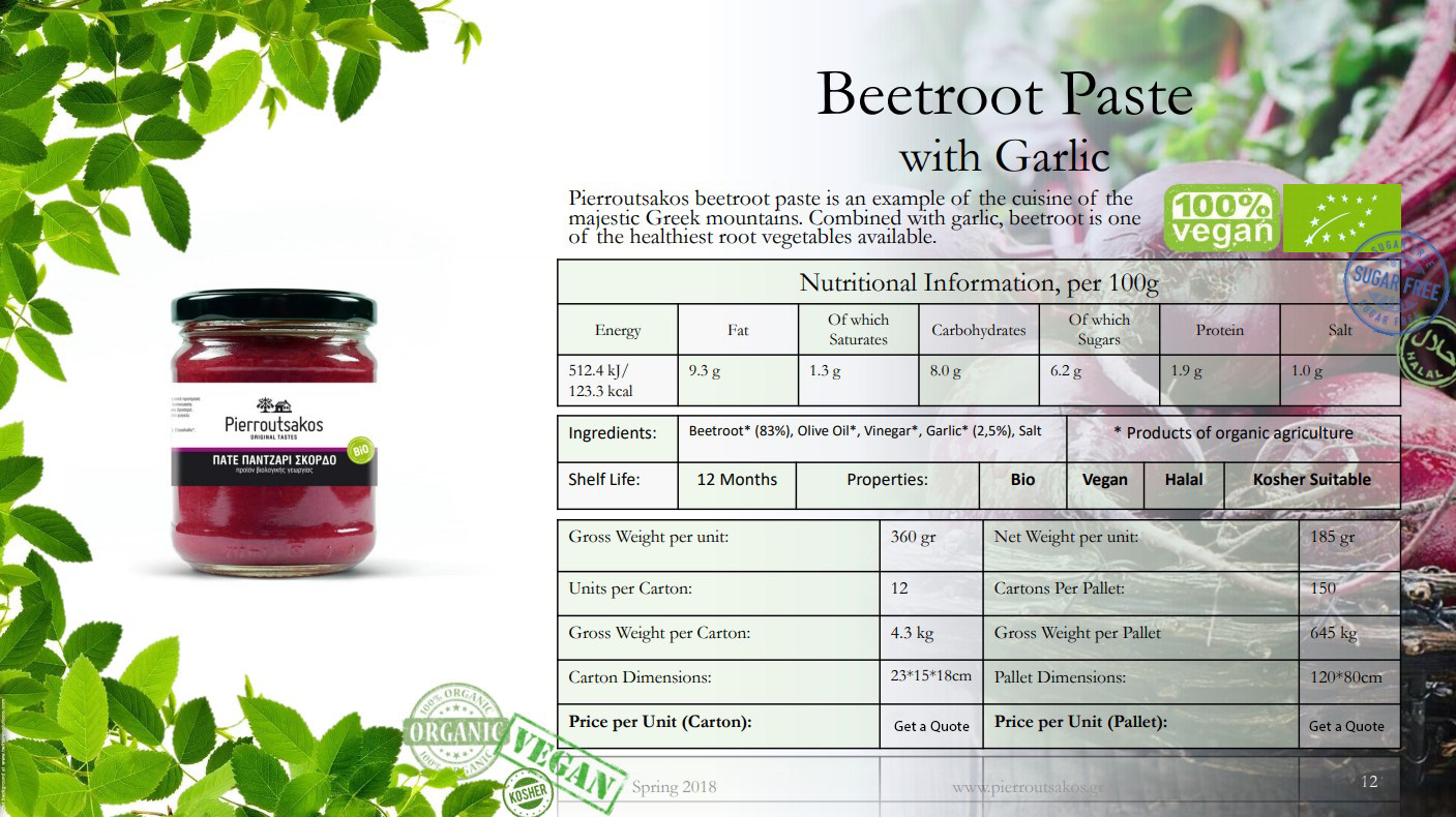 Beetroot Paste with Garlic Image